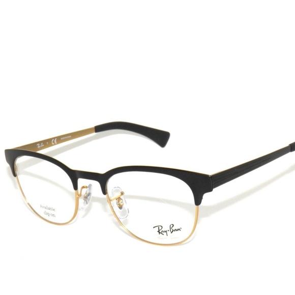 5122043dfe113 Ray Ban 6317 2833 49 Black Gold Rayban Eyeglasses.  M 5ba1c51e9fe48698524adab6